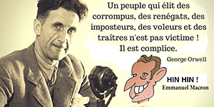 Macron et Orwell